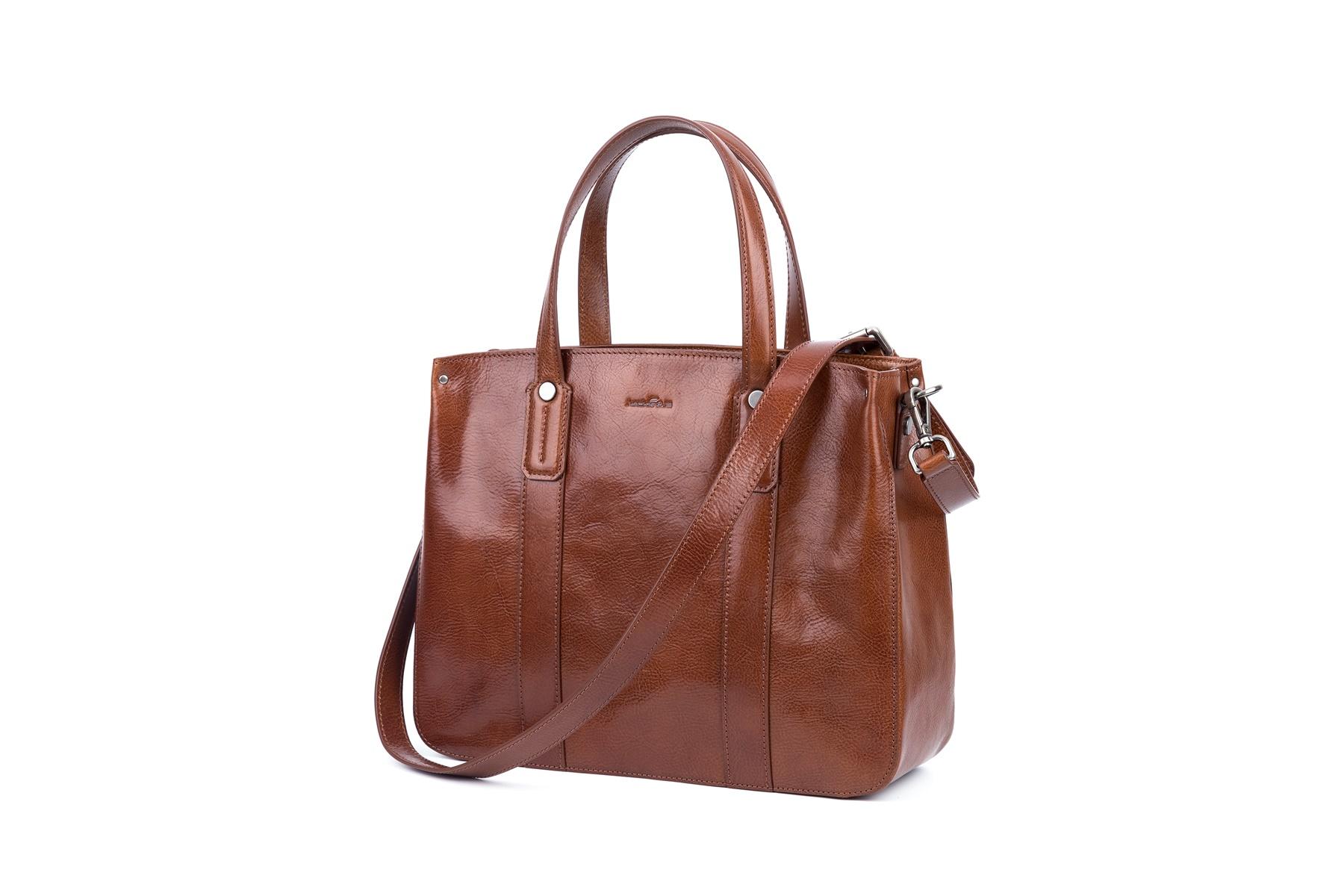 GF bags-Latest Handbags | Handbag Top Handle Waxed Leather Zipper Close Bag - Gaofeng-2