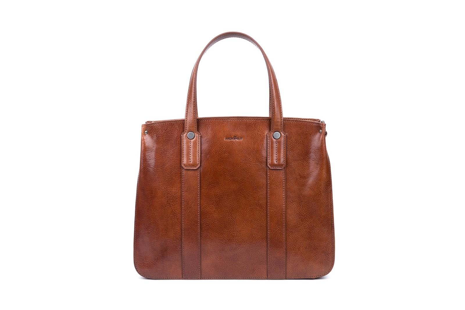 GF bags-Latest Handbags | Handbag Top Handle Waxed Leather Zipper Close Bag - Gaofeng-4