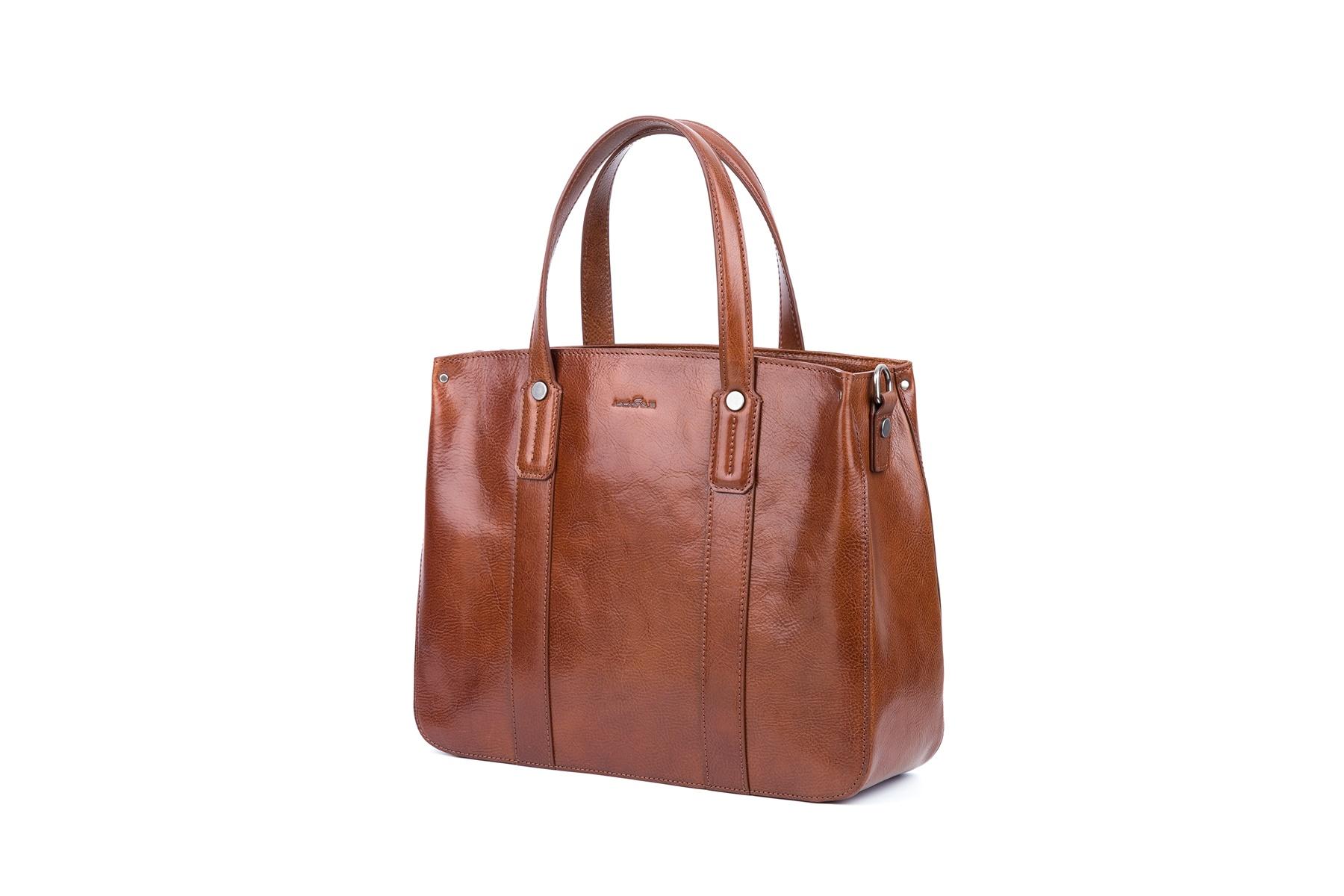 GF bags-Latest Handbags | Handbag Top Handle Waxed Leather Zipper Close Bag - Gaofeng-5