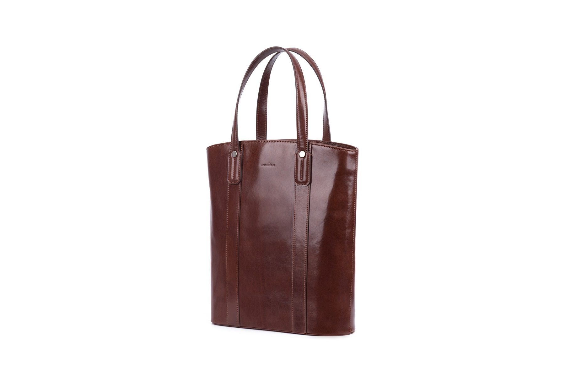GF bags-Womens Work Tote Tote Leather Handle With Zipper Closure-2