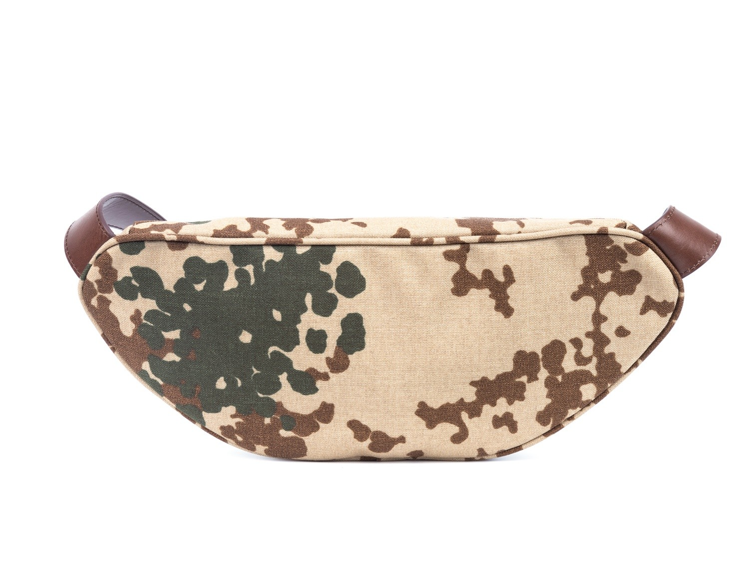GF bags-Body Bag Genuine Leather Wax Leather Strap Camouflage Nylon Pocket-gaofeng Bags-5